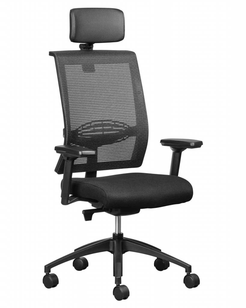 EQUINOX Executive Office Chair with STAR arm rests