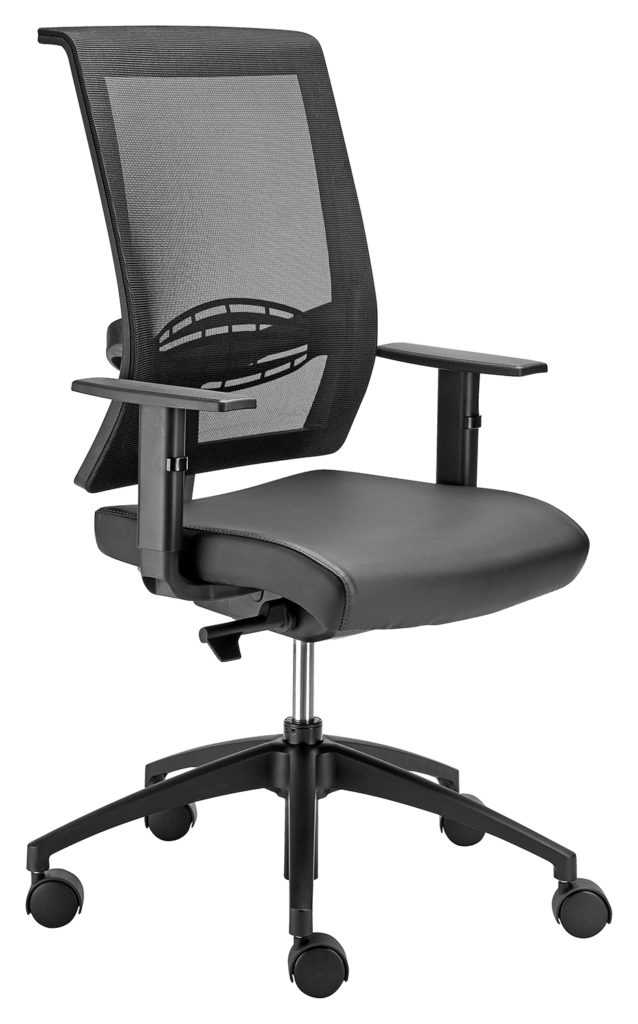 EQUINOX Task Office Chair range with GALAXY adjustable arm rests