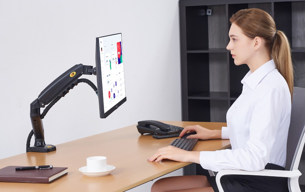 KM001 DESK MONITOR ARM