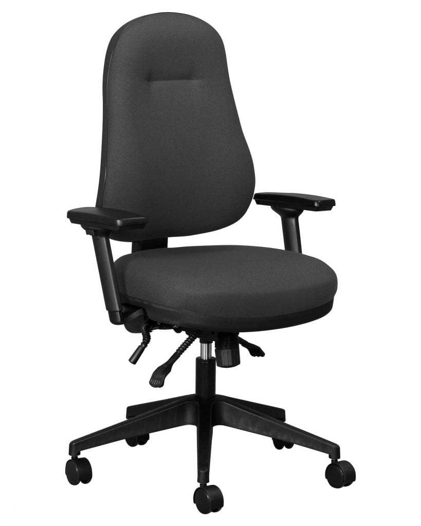 Wellback 100 Orthopaedic task chair-with-STAR-adjustable-arm