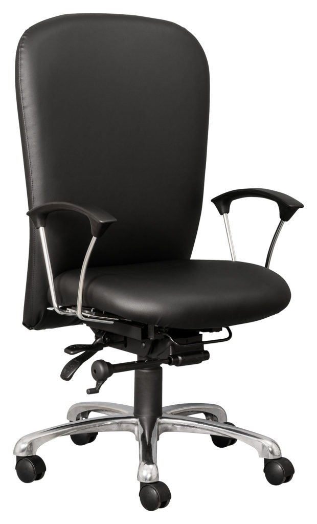 HEATHROW 24/7 Heavy Duty chair with Stratos arms