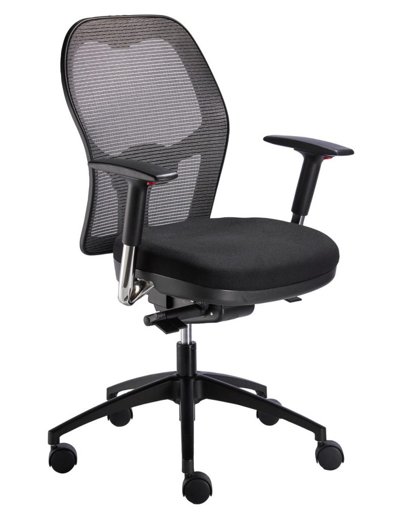 Eclipse Task Chair with Vega adjustable arms