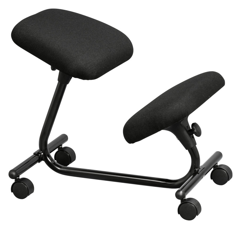 Wellback Kneeling chair for improved posture
