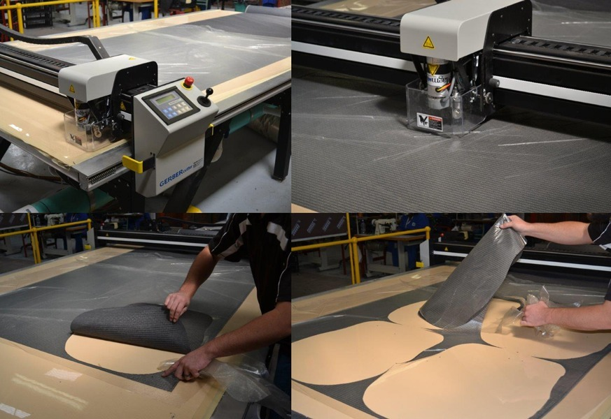 automated fabric cutting | business furniture | Karo