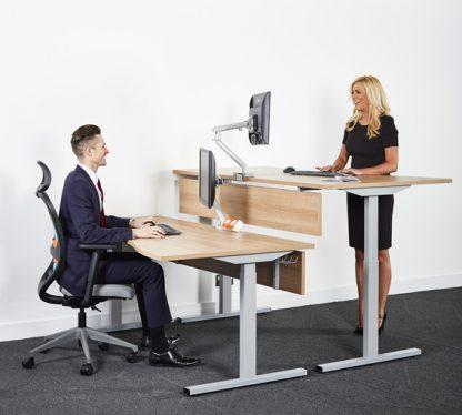 sit stand converter