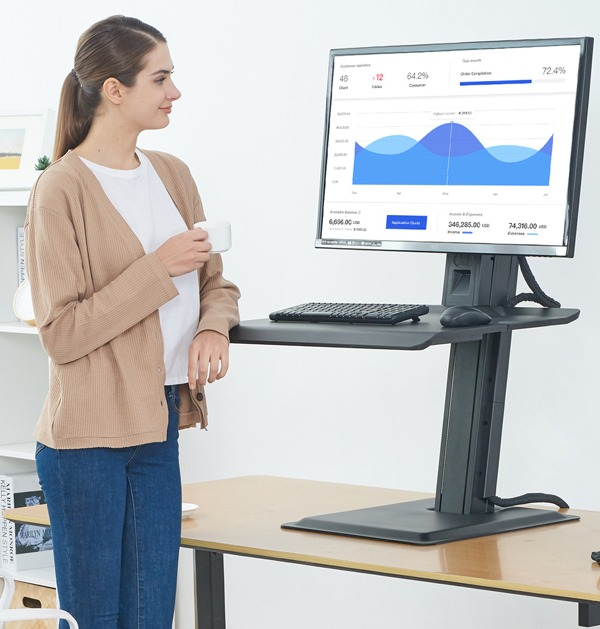sit/stand desk