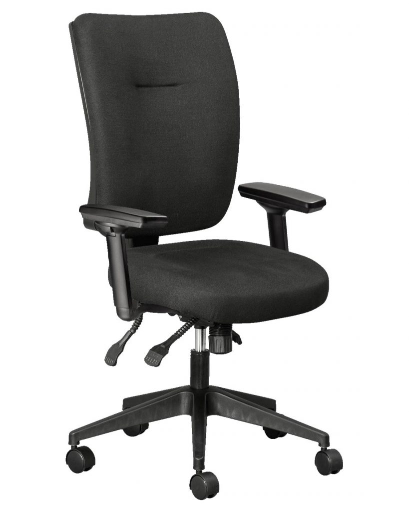 Wellback 200-Orthopaedic-Office-Chair-with-Star-Adjustable-arms