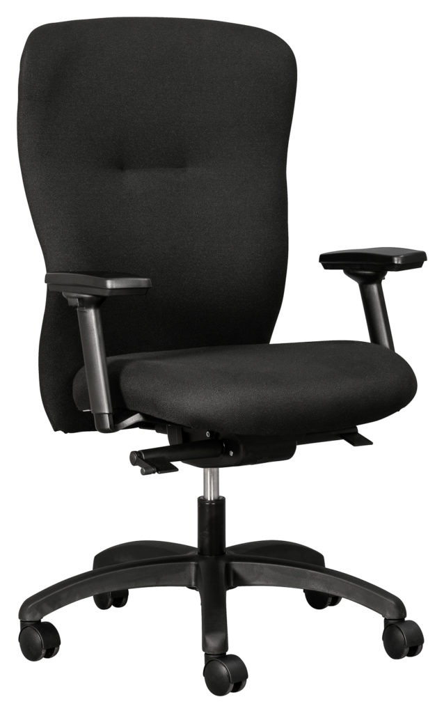 SANTO Executive chair- Hi Back with Star adjustable arms