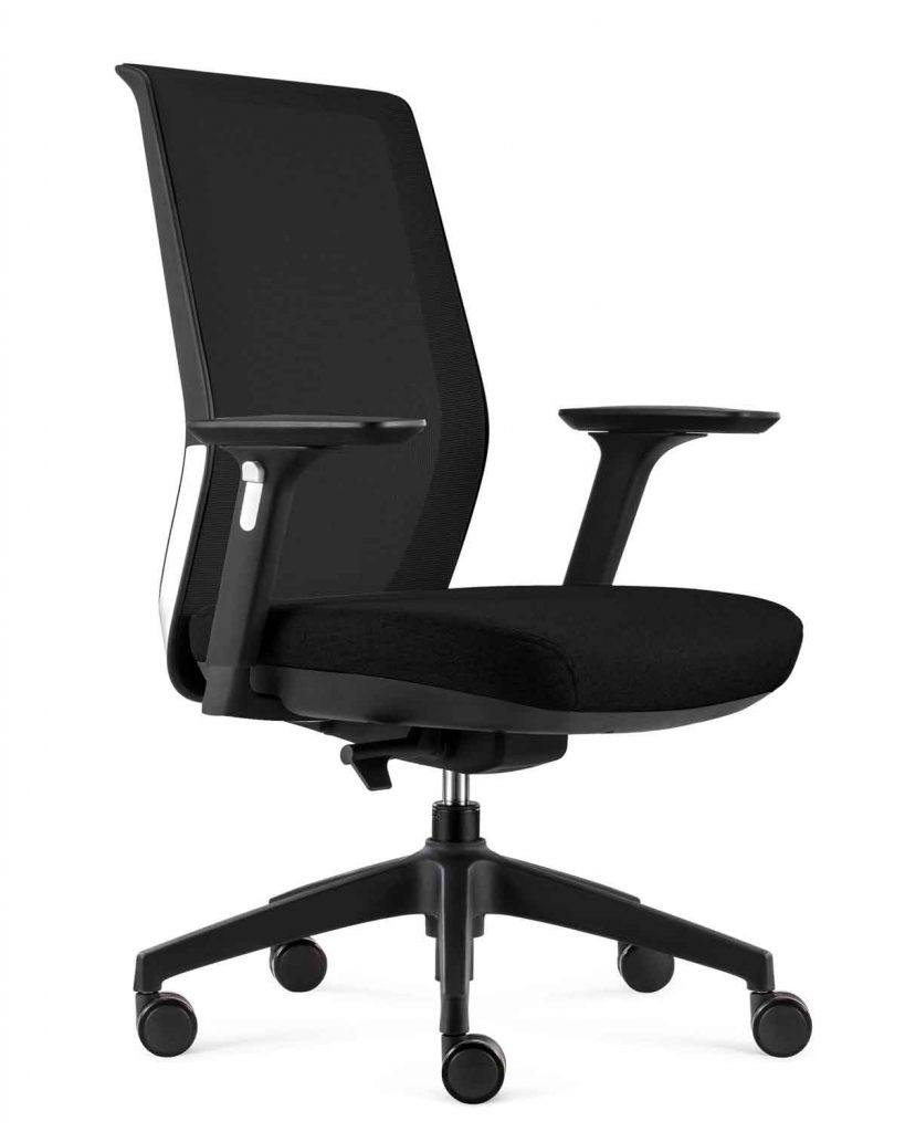 Cre8 Task Office Chair   Black Upholstery