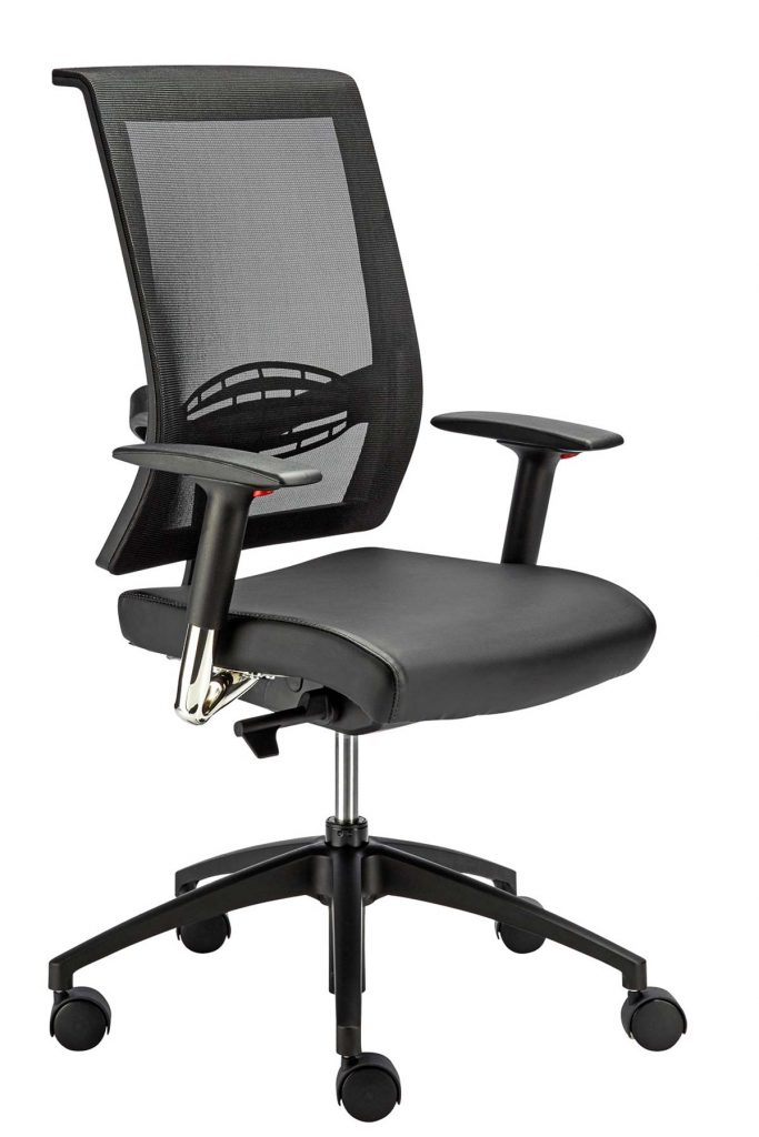 EQUINOX Task Office Chair range with VEGA adjustable arm rests