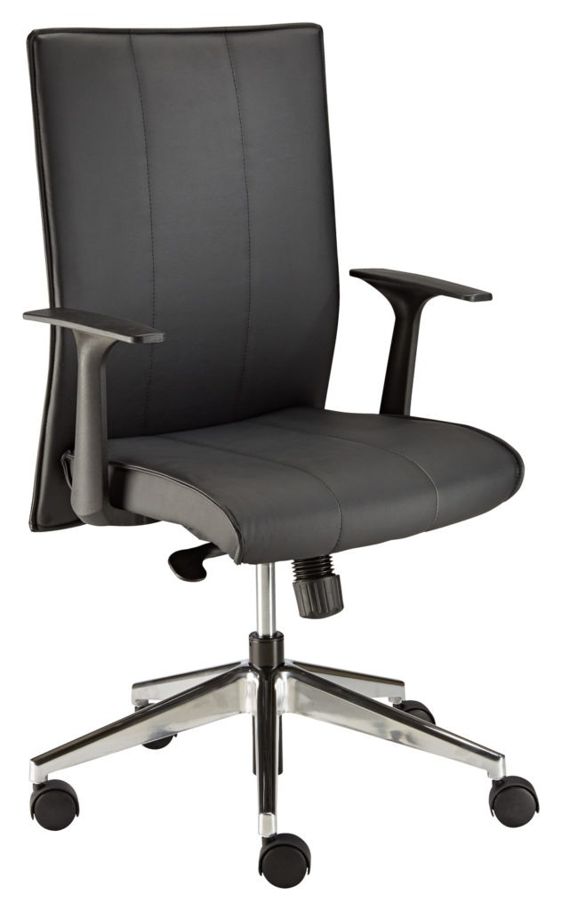 Stellar Upholstered Task Chair with LYRA arm rests