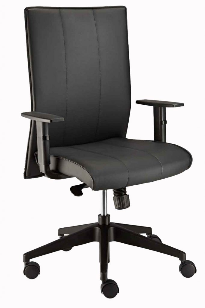 Stellar Upholstered Task Chair with GALAXY arm rests