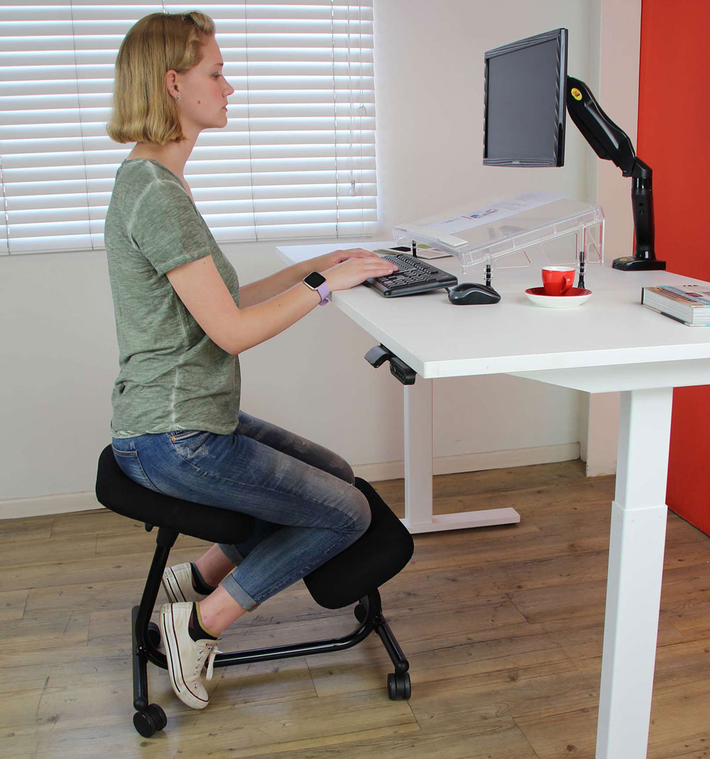 kneeling chair that is too low