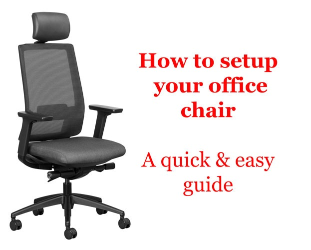 Sitting Posture Improvement How To Correctly Adjust Your Office Chair