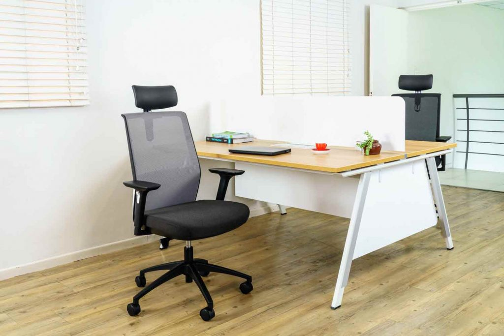 Cre8 Executive Office Chair- Grey Mesh