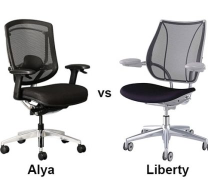 Is the Alya task chair better than the Humanscale Liberty?