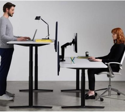 height adjustable workstation | business furniture