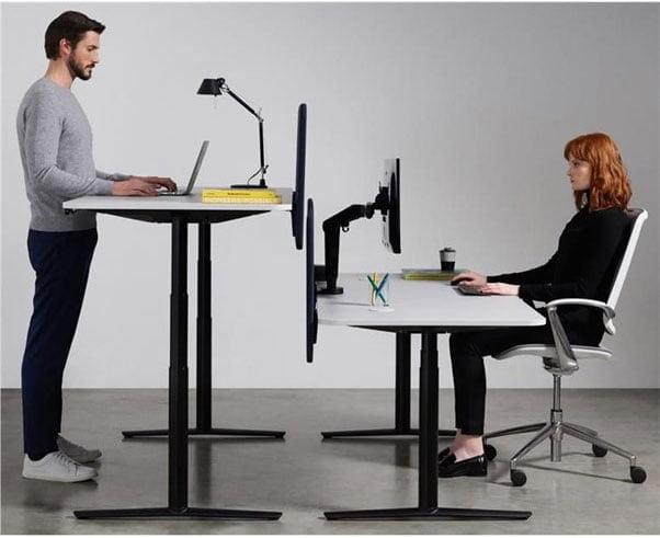 height adjustable workstation | business furniture