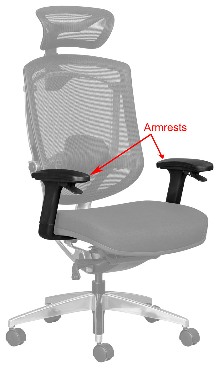 adjustable armrests for office chairs are essential for improved ergonomics