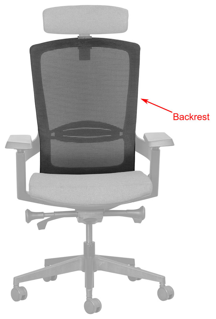 office chair backrest