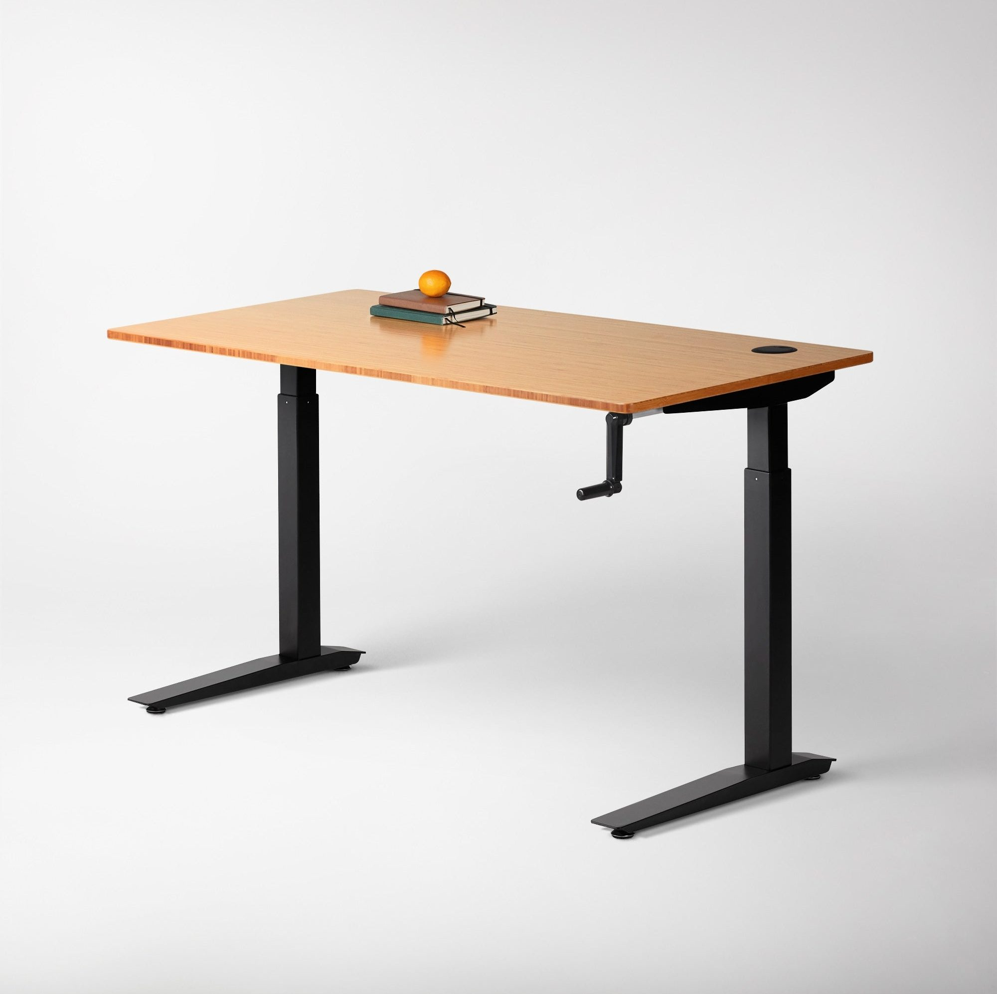 crank operated height adjustable standing desk available in South Africa