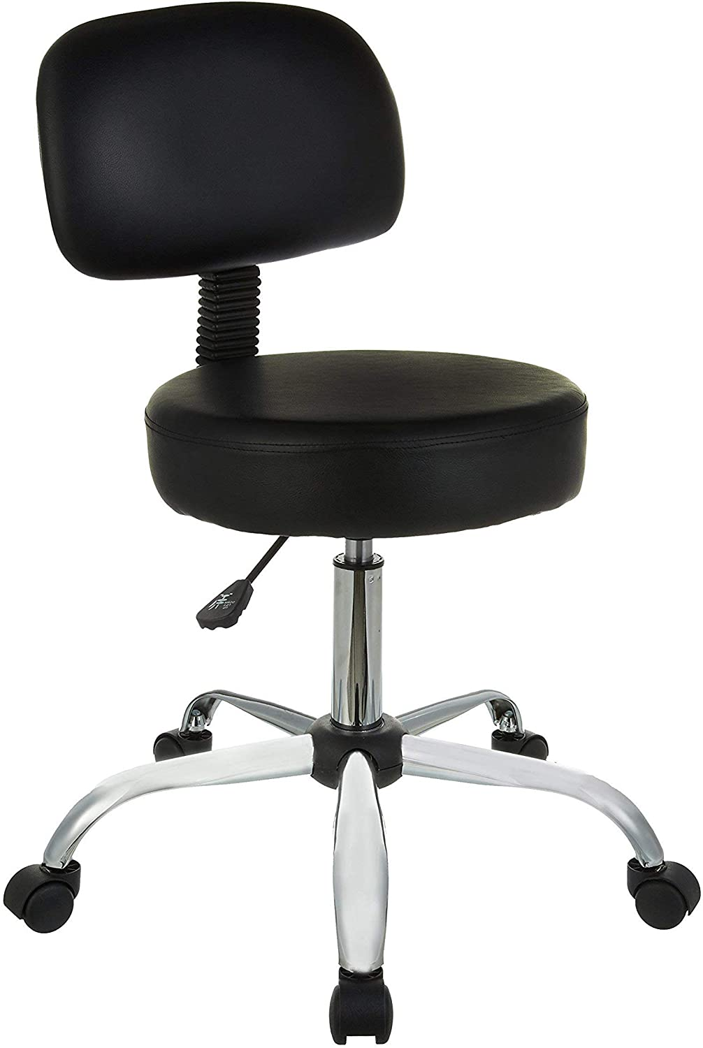 budget swivel typist office chair that is usually available at a low price from shops like Makro