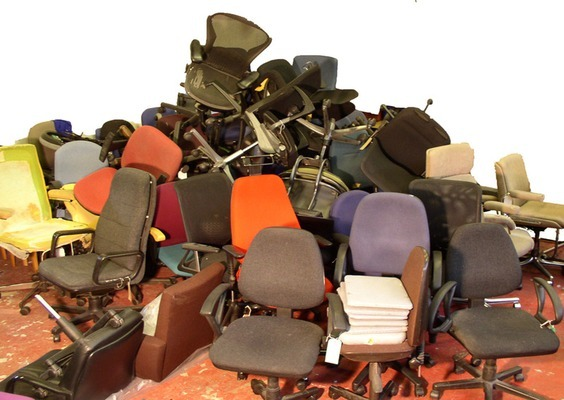 used office chairs and furniture for sale