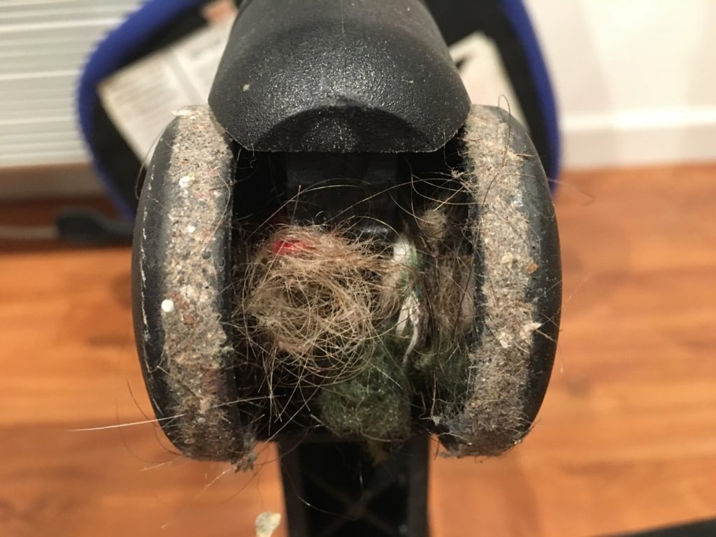 how to clean office chair wheels or castors