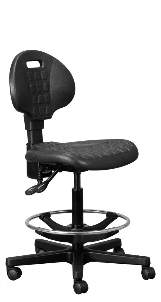 Delta Industrial Chair with Footring