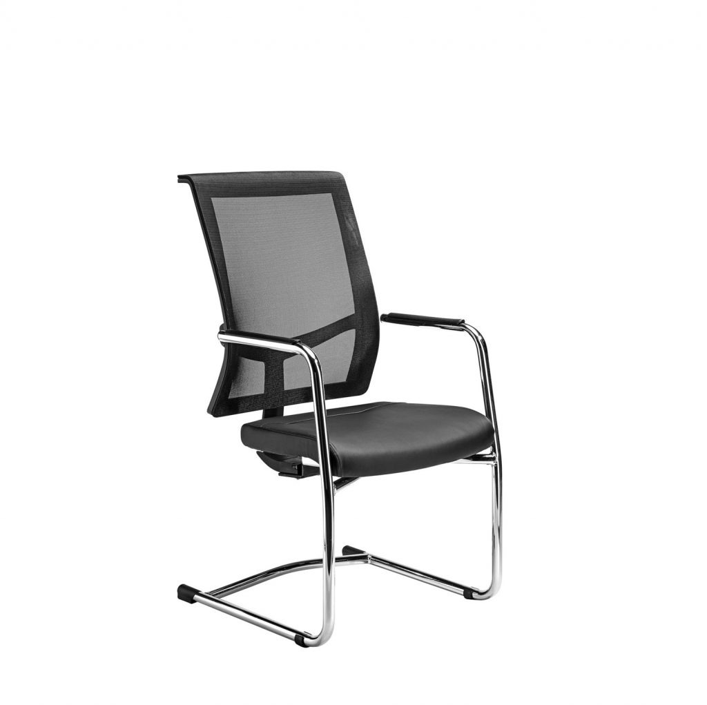 Visitor chairs can be used in boardrooms and meeting rooms